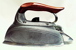American Made Steam Iron